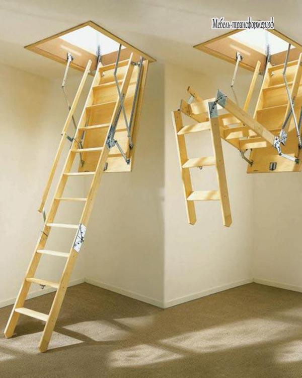 Люк на чердак без лестницы