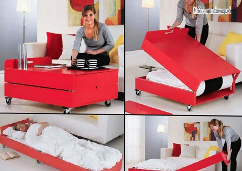 Как сделать кровать стол трансформер своими руками 84