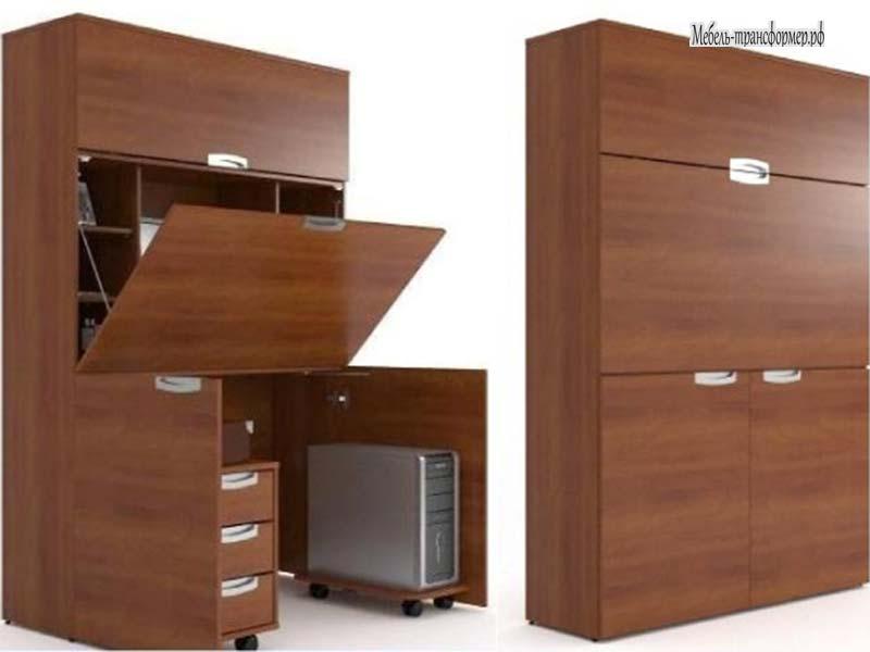 Компьютерный стол шкаф для дома см 03.01 - шкаф трансформер .