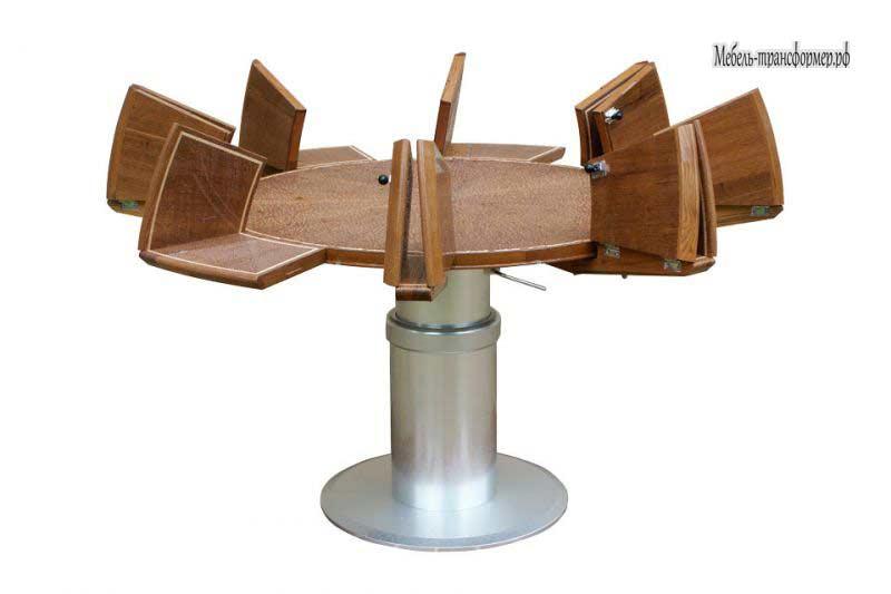 Круглые столы трансформеры своими руками чертежи
