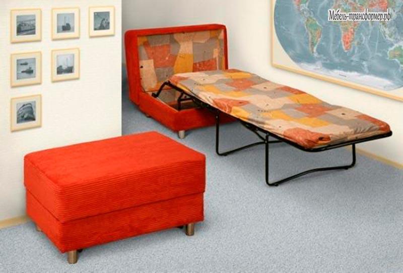 Пуф кровать трансформер консул - многофункциональная мебель .