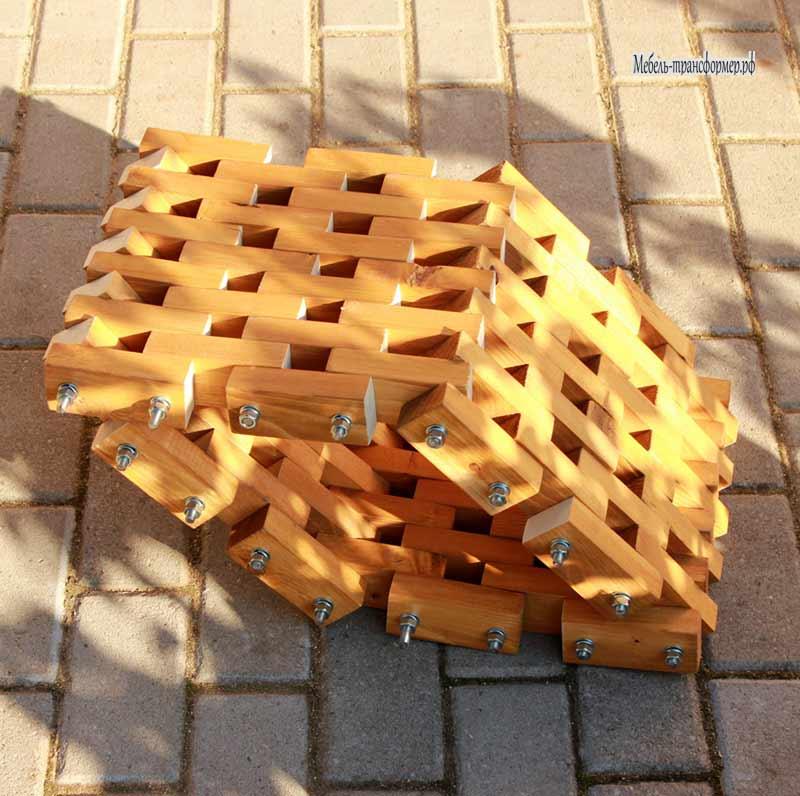 Поделки из деревянных брусков 30