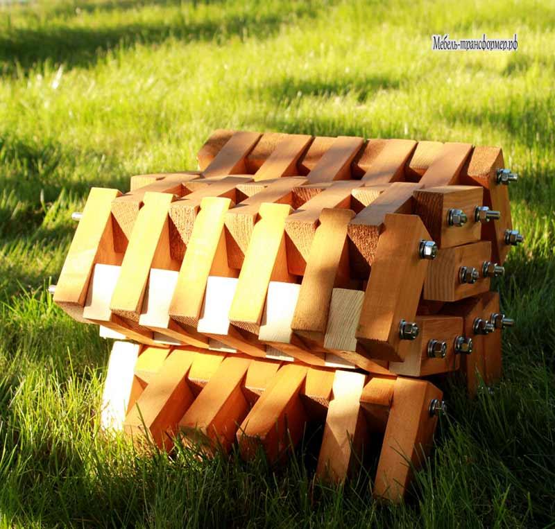 Как сделать из деревянных брусков круг