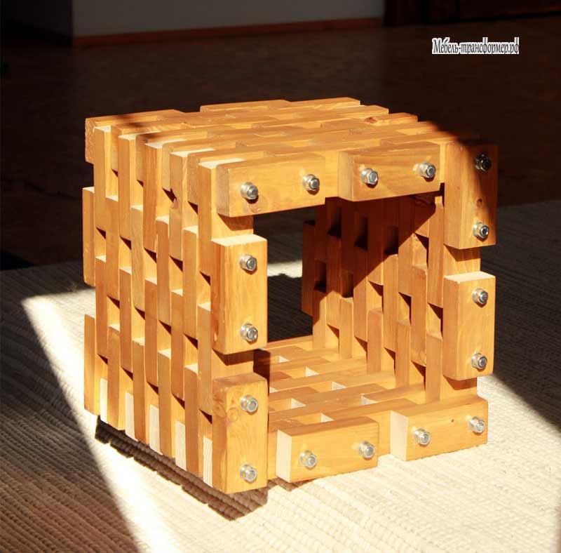 Поделки из деревянных брусков 2