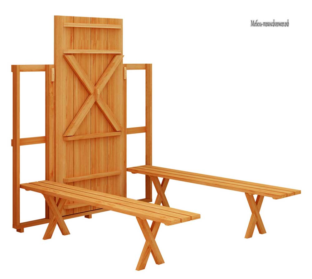 Мебель для пикника раскладная своими руками
