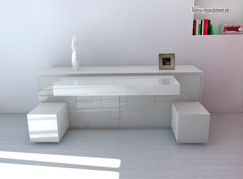 Modernes Sideboard Tetris Platzsparend