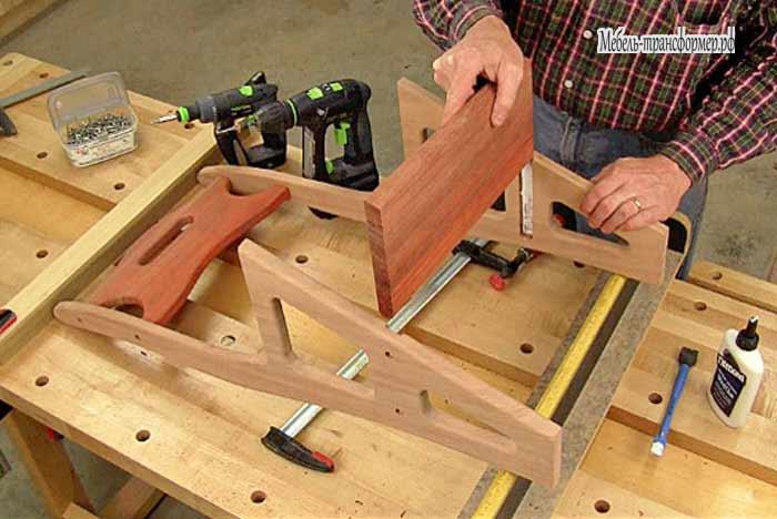 Гладильная доска трансформер своими руками