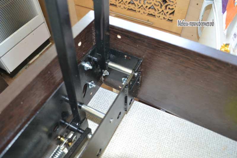 Механизмы трансформации столов