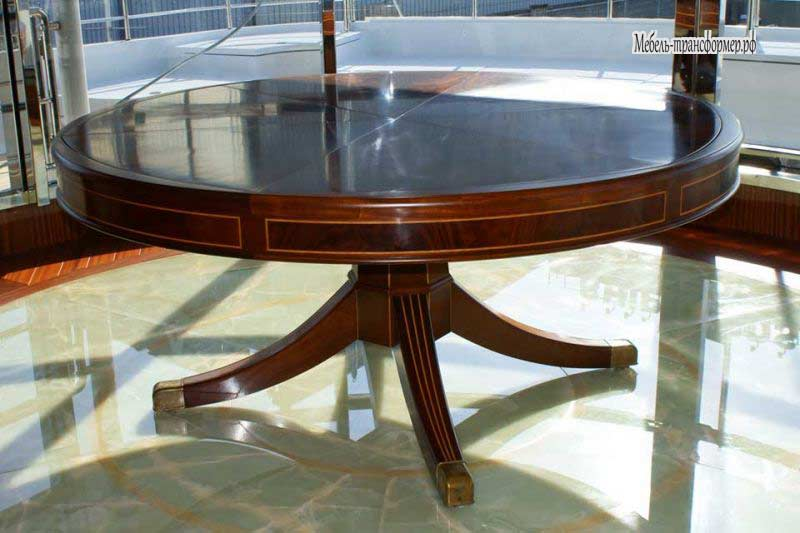 Expandable round dining table - Expandable Round Dining Table 16